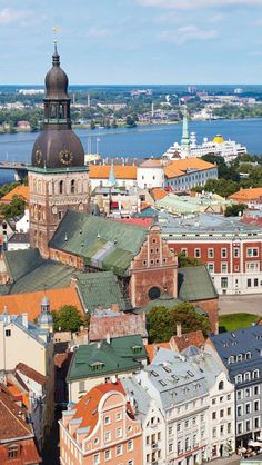 Old Riga Latvia iPhone 5 wallpapers