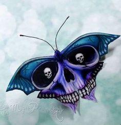 Gothic Moth Skull Bat Butterfly with small skull eyes. Fridge Magnet Gothic Motte Schädel Fledermaus Schmetterling mit kleinen Moth Skull Bat Butterfly with small skull eyes. Skull Tattoos, Body Art Tattoos, Tattoo Drawings, New Tattoos, Sleeve Tattoos, Cool Tattoos, Tattoo Sleeves, Skull Butterfly Tattoo, Butterfly Art