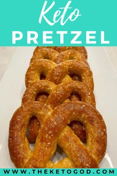 These Keto Pretzels are soft, chewy, and are a perfect keto snack. You made have heard of fat dead pizza, well these Keto Pretzels are made with the same fat head dough. These are a perfect low carb after school snack for the kids. #ketopretzels #ketosnacks #ketobread Healthy Low Carb Snacks, Healthy Diet Recipes, Quick Snacks, Keto Snacks, Whole Food Recipes, Great Recipes, Keto Recipes, Family Recipes, Best Keto Breakfast
