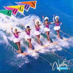 "It wouldn't be an 80s Summer Music Playlist without ""Vacation"" by the GoGos."