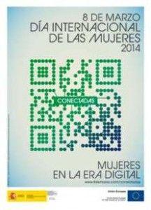 Mujeres en la era digital, mujeres conectadas Día Internacional de las Mujeres 2014   http://www.anahernandezserena.com/mujeres-conectadas-celebrando-el-dia-internacional-de-las-mujeres/