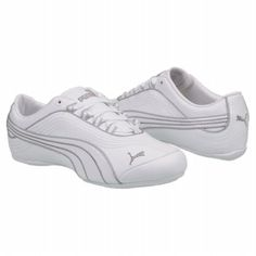 Athletics Puma Women's Soleil White Silver size 8 1/2
