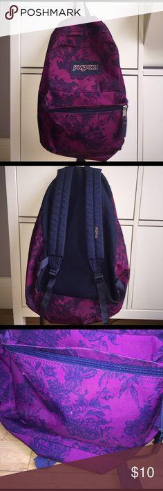 Jansport bag Pretty beat wear shown in pics Jansport Bags Backpacks