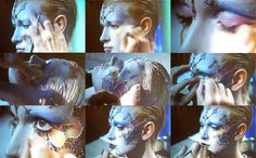 Photos I took from Kabuki's live demo at the 2012 IMATS in Los Angeles.
