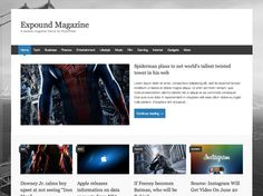 This free responsive magazine WordPress theme offers featured posts, threaded comments, support for sticky posts, BuddyPress compatibility, support for post thumbnails, and more.