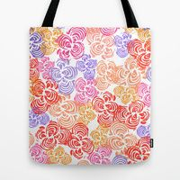 Tote Bag featuring Flowers Abound by Robin Gayl