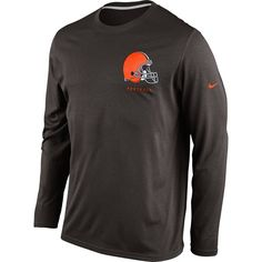 Cleveland  Browns  Nike Legend Elite Conference Long Sleeve Tee. Click to  order! 0fc171517