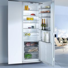 Buy Miele K37472ID Tall Integrated Larder Fridge, A++ Energy Rating, 56-57cm Wide Online at johnlewis.com