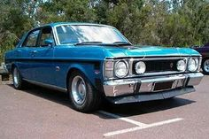 Aussie Muscle Cars, American Muscle Cars, Ford Girl, Australian Cars, Germany And Italy, Old Classic Cars, America And Canada, Ford Falcon, Road Racing