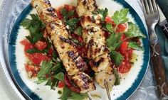 Lemony Chicken Kabob - Danette May recipe is bursting with flavor! Make sure you let them marinate for at least 24 hours so all that good flavor soaks in.