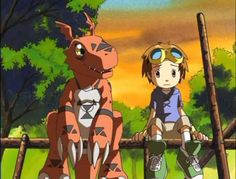 """Digimon Season 3: My favorite Digimon season to date. I really related to Takato when I was a kid and developed my first """"fan-fic"""" where I was Takato's American cousin with an Agumon Partner. Guilmon's design and origin would also lead me to create my own Digimon, """"Dinkdramon"""""""