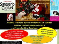 Peluza Fashion (Ave. Iturregui 835-San Juan, PR), te invita a cooperar con los Canitos del Santuario Canita. Ver flyer para más detalles. Coopera además dando LIKE & SHARE a esta publicación. Te invita: BODY SERVICE