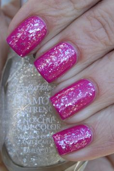 Sinful Colors Dream On and Sally Hansen Glass Slipper. From Grape Fizz.