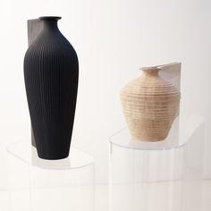 Ves -Sels, Wood Vases designed by Zaha Hadid