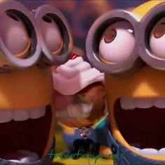 #Minions #tom #jerry #dave #stewart #bob #kevin #carl get caught getting #TurntUp @ #work eating #desert   by their #boss #gru #despicableme 2 #toofunny #instafunny #laughing #laughter #video #instavideo #music #edit #song #internet #socialmedia #repost #art #Artists #color @comedyposts @comedycentral @crazyhumor @worldcomedy @videosposts