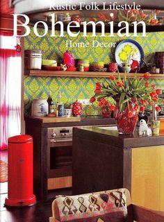 Bohemian home decor ideas #boho #brides #kitchen