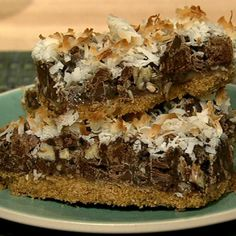 the chew | Recipe  | Carla Hall's Magic Bars.
