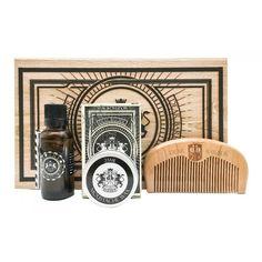 Dear Barber Zestaw do brody i wąsów (olejek, wosk, grzebień) Beard Grooming, Grooming Kit, Aphrodite, Barber, Wallet, Accessories, Collection, Beard Care, Beard Maintenance