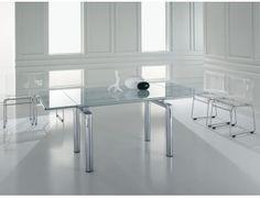 Tavolo Allungabile Vetro Satinato.8 Best Dinning Tables Images Dinning Table Dining Table Furniture