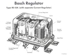 4bd011dc0ec7e0a45b7210ab3adca6f4 vw bug electronics wiring a bosch voltage regulator if you have a bosch regulator