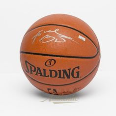 d4fc4a58008 KOBE BRYANT Autographed In Silver Spalding Replica Basketball PANINI