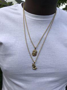 Uhat/® Time Gem Fleur T/ête de mort Collier Pendentif Bracelet Ensemble de boucles doreilles bijoux tendance Chandail de collier