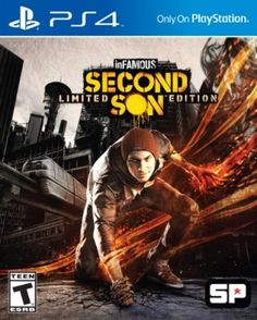 inFAMOUS: Second Son Limited Edition - Playstation 4 #Jogos #Sony
