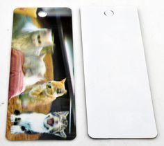 Boekenlegger/ Bookmark Cats 3D for sale at Trendy Goodies. http://www.trendygoodies.nl/Boekenlegger-Poezen-3D