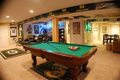 man cave packers | Pin it Like Image