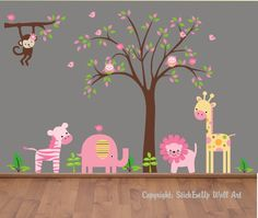 Wall decorations for girl nursery