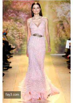 فستان من تصميم زهير مراد مجموعة هوت كوتور صورة 1