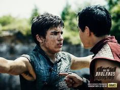 We had a chance to talk with actor Aramis Knight about AMC's new series Into The Badlands and discuss what to expect form M.K., the training it took to play that role and the deeply rich story that the series brings to the screen. Here is a short snippet about his character. Saved from mercenary …