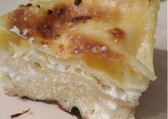 Túrós lasagne Camembert Cheese, Grilling, Food And Drink, Tasty, Baking, Recipes, Diet, Lasagna, Crickets