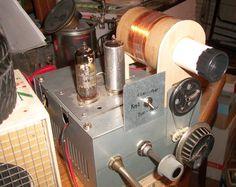 Prototipo di radio bivalvolare a batterie