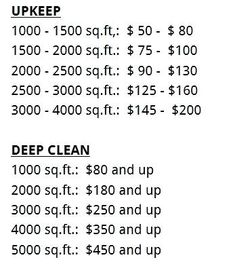 Deep Cleaning House List Bathroom Cleaning Supplies List Deep Cleaning Services Whole House Deep Cleaning List House Cleaning Prices, Cleaning Services Prices, House Cleaning Checklist, Car Cleaning, Bathroom Cleaning, Deep Cleaning, Spring Cleaning, Cleaning Flyers, Office Cleaning