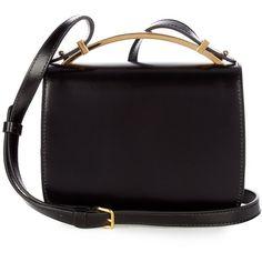 21e430493a Marni Sculpture leather cross-body bag ( 1