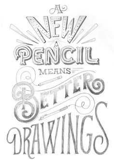 Back in the studio and needed a bit of a warm-up and to play with a new pencil. I'm still keen on the good ole' Dixon Ticonderoga, but I can't help myself from trying new tools. So, it's a new year, new pencil, same old resolutions. Let's kick butt in 2014!