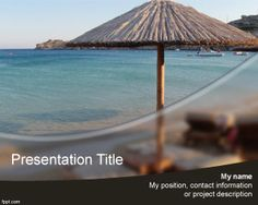 #free #PowerPoint #background - vacation
