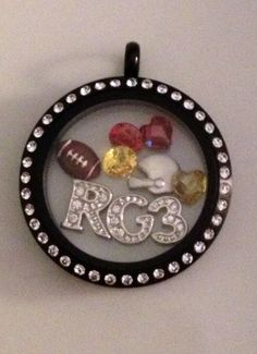 Are you ready for Football season?!?!  Design your locket representing your favorite team at http://tamilight.origamiowl.com