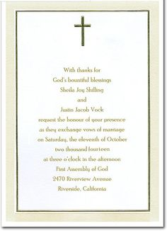 Tips Easy to Create Christian Wedding Invitation Wording Templates with graceful appearance CoolNew Christian Wedding Invitation Wording Christian Wedding Invitation Wording, Engagement Invitation Wording, Wedding Invitation Wording Templates, Jewish Wedding Invitations, Invitation Card Sample, Addressing Wedding Invitations, Destination Wedding Invitations, Wedding Invitation Cards, Invites
