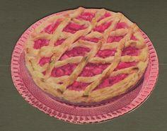 Retro Recipes, Vintage Recipes, Pink Pie, Pink Foods, Rose Cake, No Bake Cake, Deli, Apple Pie, Nom Nom