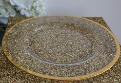 Charger Plates are the perfect finishing touch to your table setting. We have just brought in a classic Gold Rim Charger Plate, a timeless piece for your tableware. This is also available in Rose Gold.