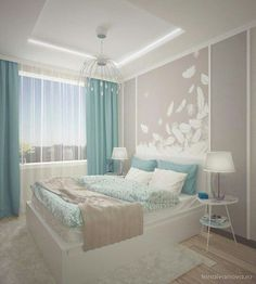 Bedroom design ideas - The bedroom is the most comfortable place to rest. Do not you let your bedroom fall apart with a mediocre design. Discover the inspiration of modern, cool, luxurious, beautiful bedroom designs, etc. Bedroom Color Schemes, Bedroom Colors, Home Decor Bedroom, Living Room Decor, Bedroom Ideas, Dream Rooms, Luxurious Bedrooms, Beautiful Bedrooms, Interior Design Living Room