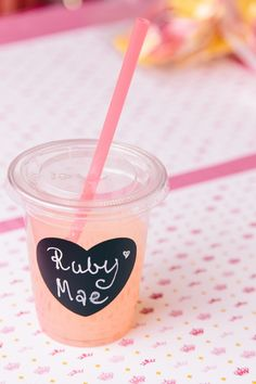 24 Chalkboard Heart Party Cups Lids Plastic Straws by SweetKaity Slumber Parties, First Birthday Parties, Birthday Party Themes, First Birthdays, Birthday Ideas, Camping Parties, Cumpleaños Diy, Baby Showers, Festa Toy Story