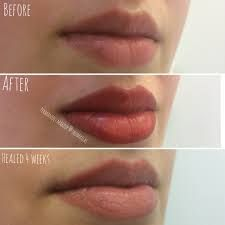 Image result for semi permanent lip blush