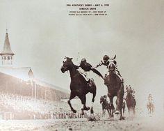 'Disputed 1933 KY Derby came to a 'fighting finish' between jockeys' via @kyforward