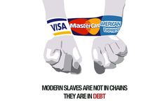 Modern slaves are not in chains. They are in debt