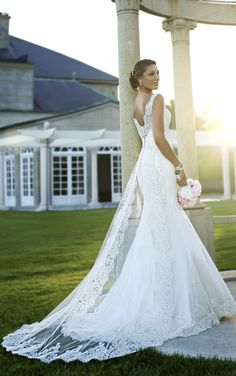 Be Dazzling in Stella York #Wedding Dresses - To see more: http://www.modwedding.com/2013/10/10/stella-york-wedding-dresses #weddingdresses