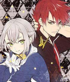 Aizen x Hotarumaru Mutsunokami Yoshiyuki, Snow White With The Red Hair, Anime Warrior, Love Scenes, Manga Couple, Hot Anime Guys, Touken Ranbu, Kawaii Anime, Cute Art