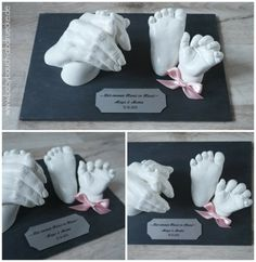 Mommy & Baby - 3D castings Made by Julia Schulze, Germany
